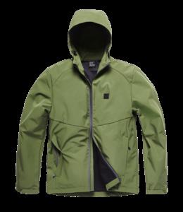 Vintage Industries Ather softshell jacket olive