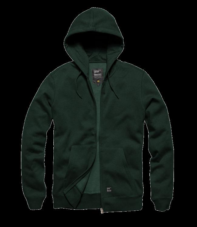 Vintage Industries Redstone hooded sweatshirt green