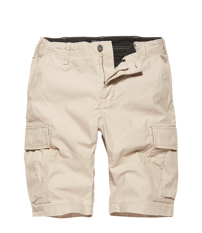 Vintage Industries Kirby shorts stone
