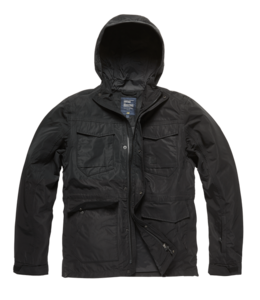 Vintage Industries Levin jacket black