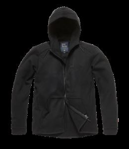 Vintage Industries Albury hooded sweatshirt black