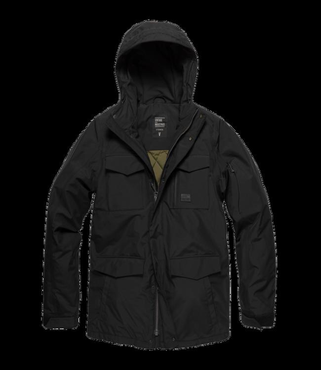 Vintage Industries Marc jacket black