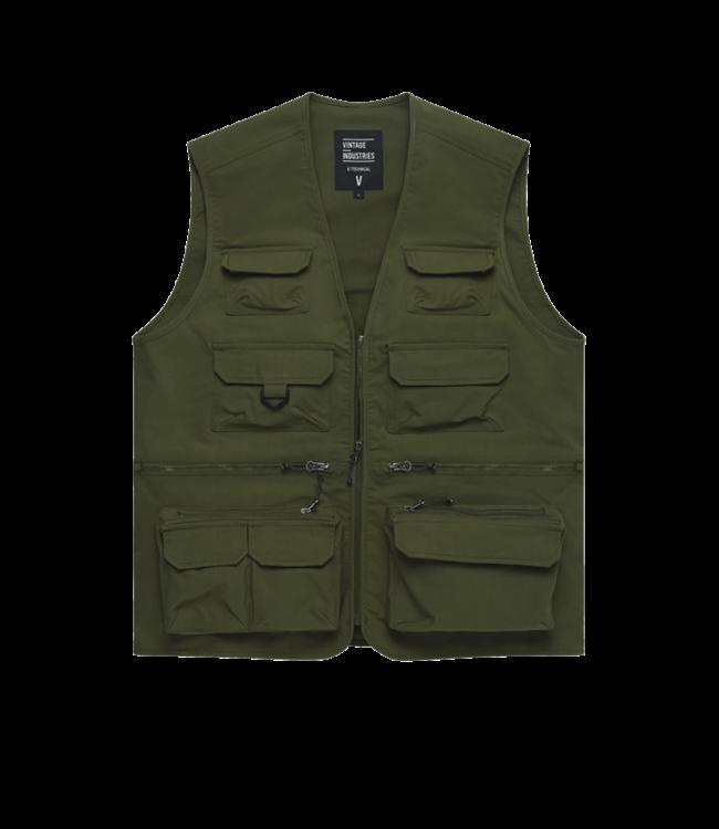 Vintage Industries Legend fishing vest sage