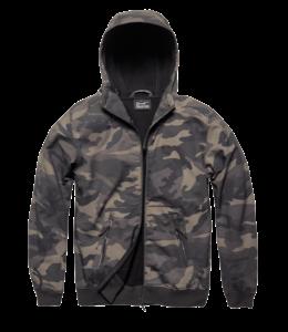 Vintage Industries Ashore softshell jacket dark camo