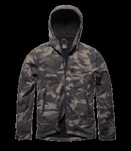 Vintage Industries Alford softshell jacket dark camo