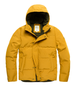 Vintage Industries Zander jacket off yellow
