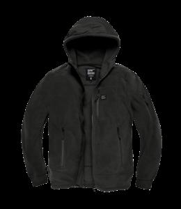 Vintage Industries Lanford polar fleece jacket black