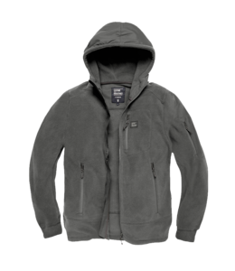 Vintage Industries Lanford polar fleece jacket stone