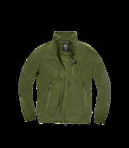 Vintage Industries Tour polar fleece jacket olive