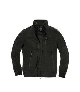 Vintage Industries Tour polar fleece jacket black