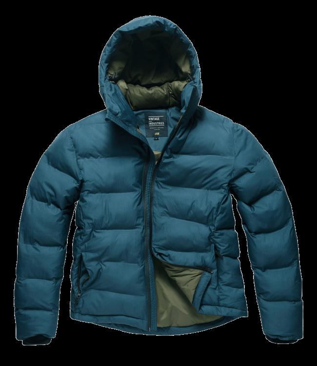 Vintage Industries Rhys jacket navy blue