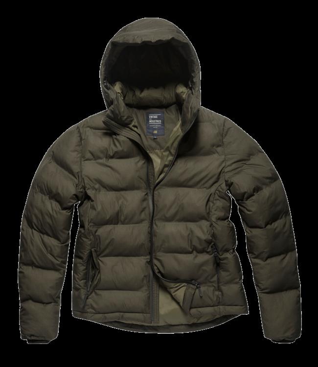 Vintage Industries Rhys jacket dark olive