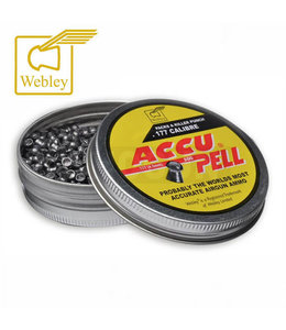 Webley Accupell  4.5 mm luchtdruk kogels   177