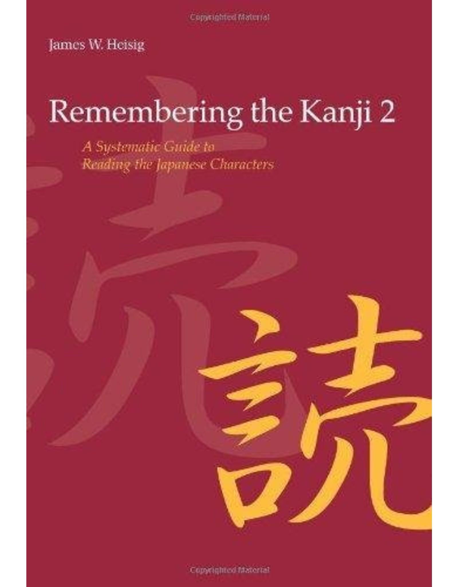 REMEMBERING THE KANJI (2)