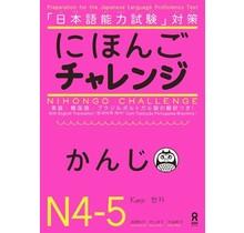 ASK - NIHONGO CHALLENGE KANJI N4 -5 : PREPARATION FOR JLPT WITH ENGLISH TRANSLATION
