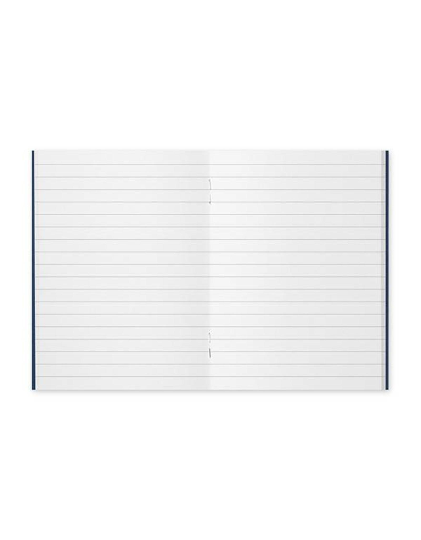 Traveler's Company 001. RULED LINE MIDORI TRAVELER'S NOTEBOOK PASSPORT SIZE