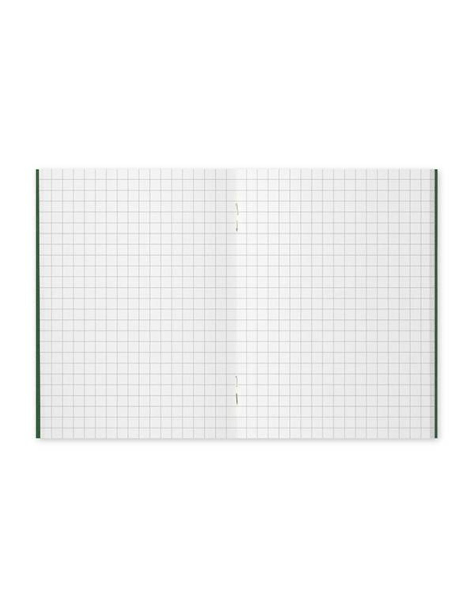 Traveler's Company 002. GRID REFILL MIDORI TRAVELER'S NOTEBOOK PASSPORT SIZE
