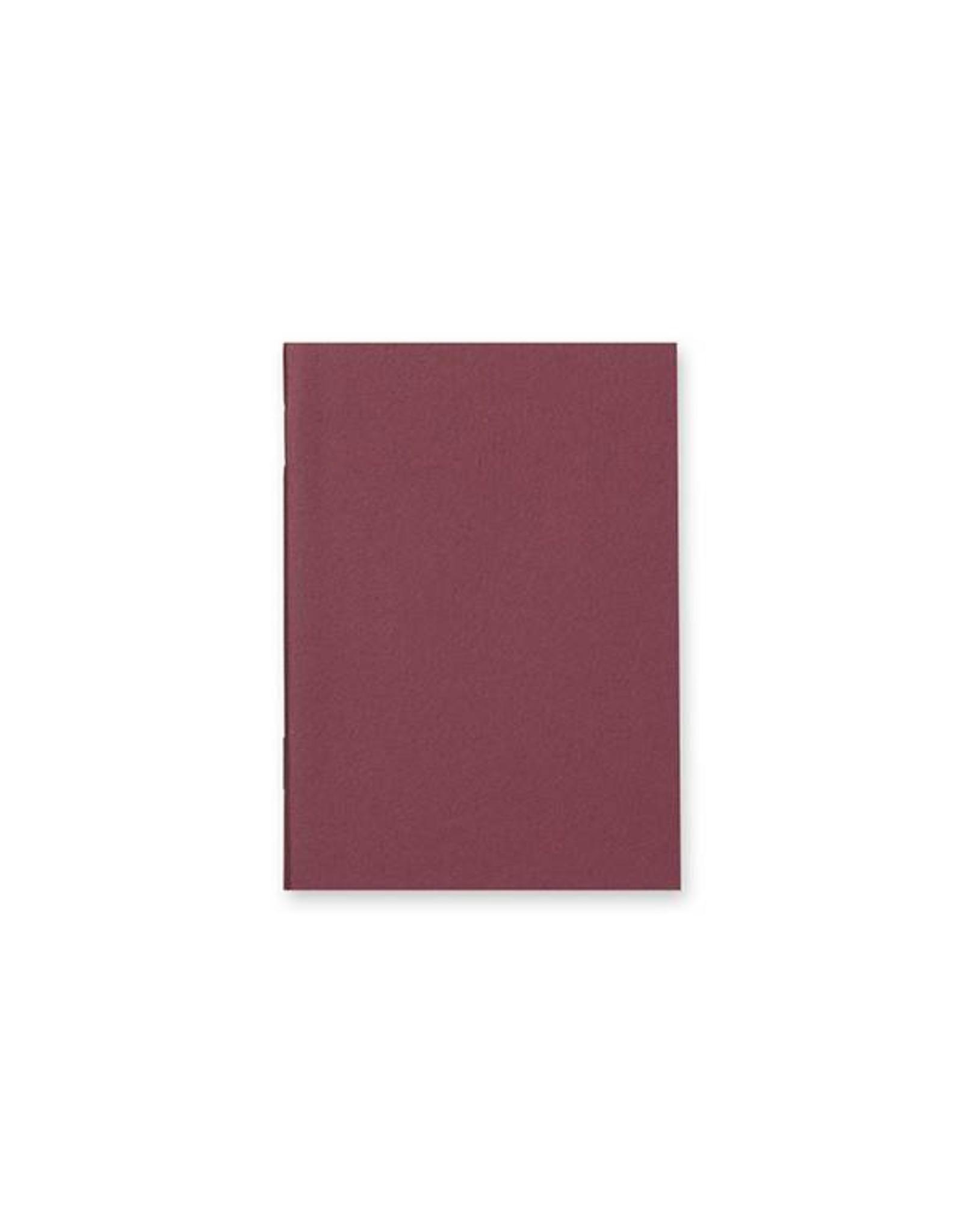 Traveler's Company 003. BLANK REFILL MIDORI TRAVELER'S NOTEBOOK PASSPORT SIZE