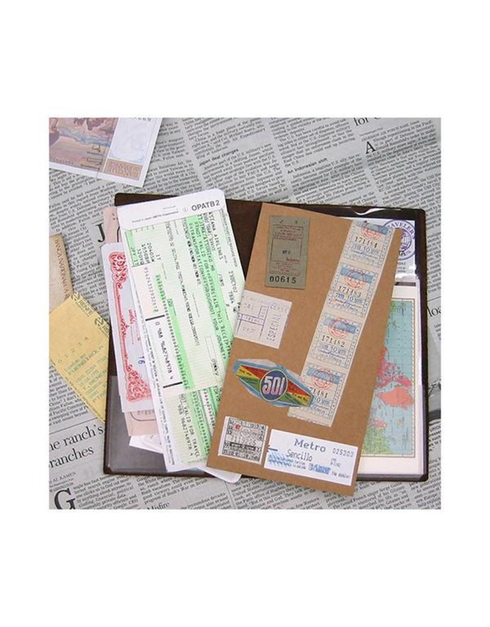 Traveler's Company 004. POCKET STICKERS (3PCS.) MIDORI TRAVELER'S NOTEBOOK