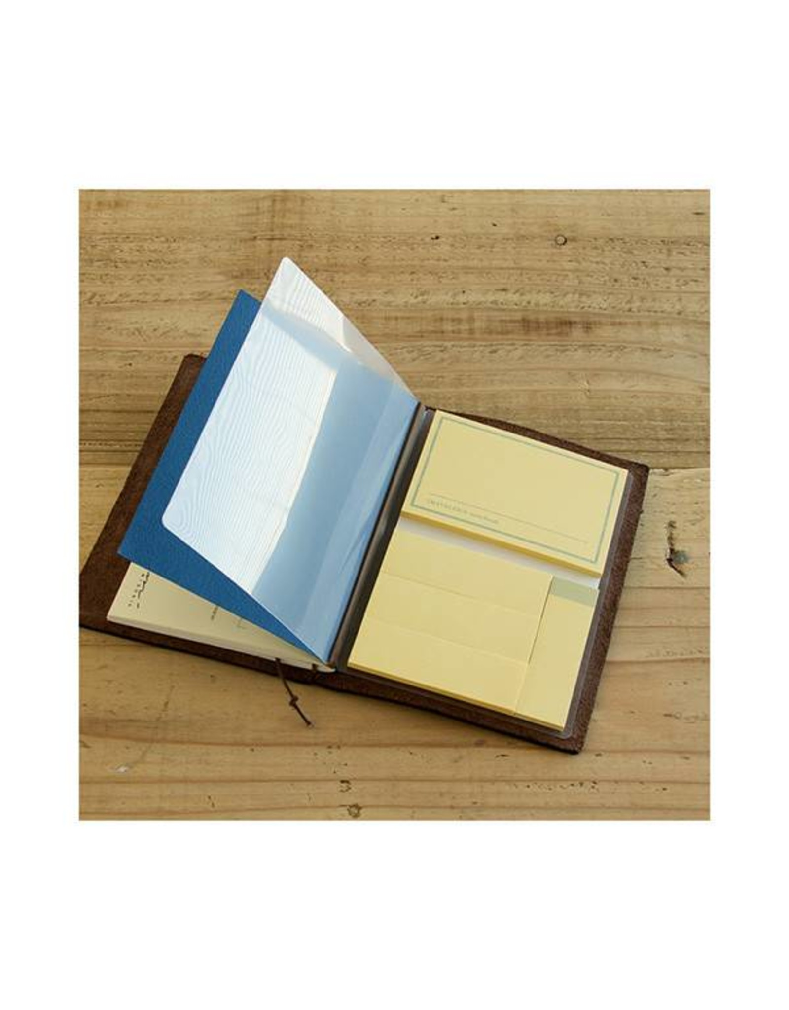 Traveler's Company 012 POST IT STICKER MIDORI TRAVELER'S NOTEBOOK PASSPORT SIZE