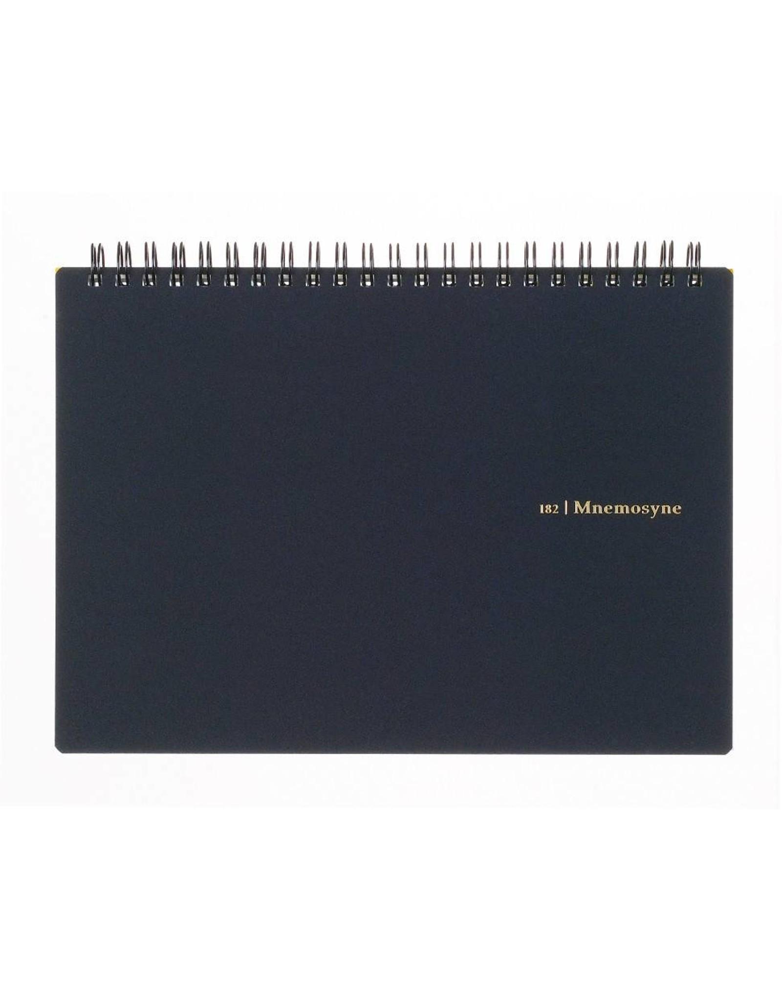 MARUMAN N182A MNEMOSYNE NOTEBOOK 5MM SQUARED A5