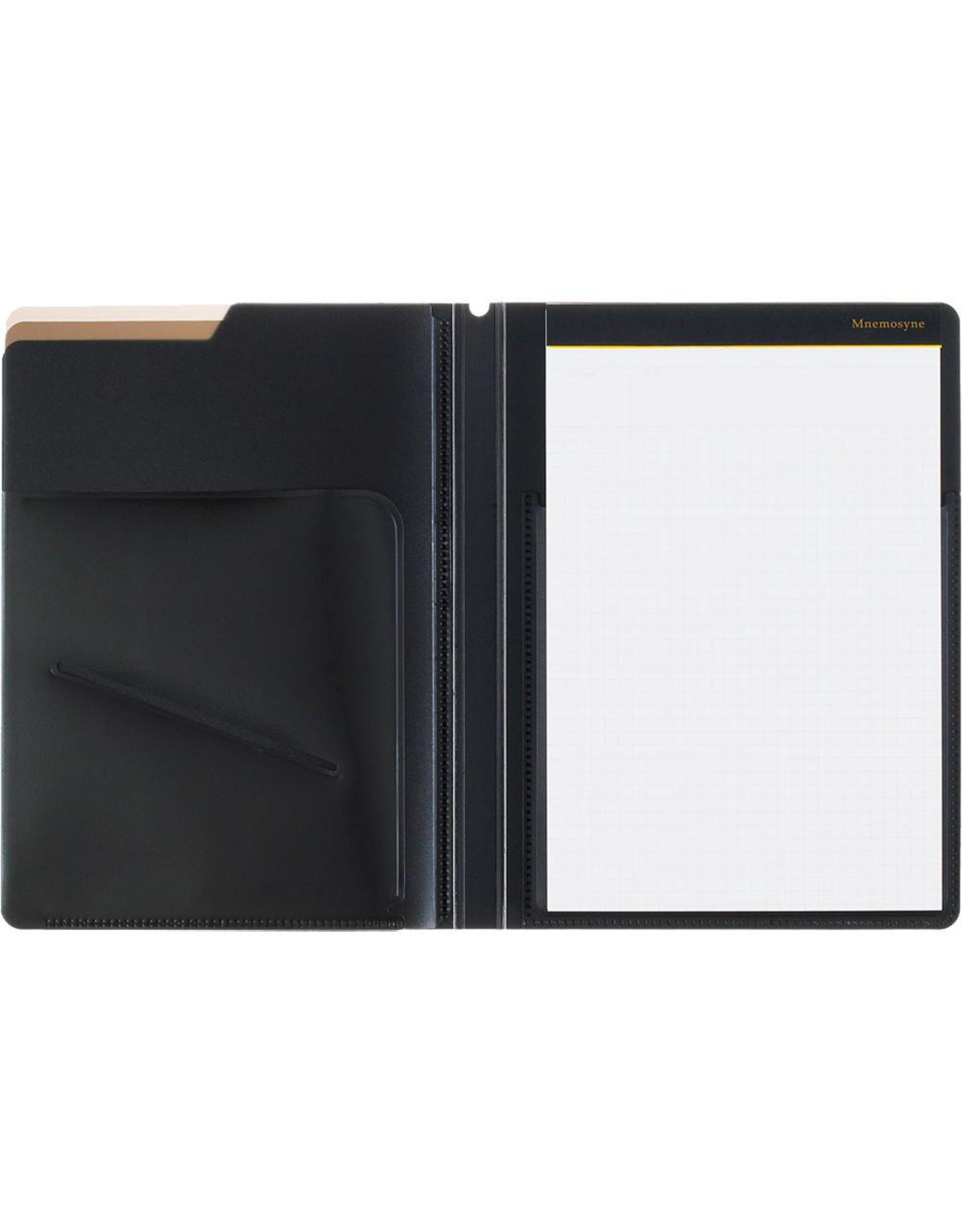 MARUMAN MNEMOSYNE NOTEPAD AND HOLDER WITH 5 POCKETS A5