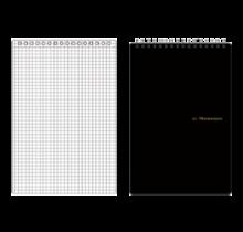 MARUMAN - N165 MNEMOSYNE NOTEBOOK 5MM SQUARED A5 230X148MM