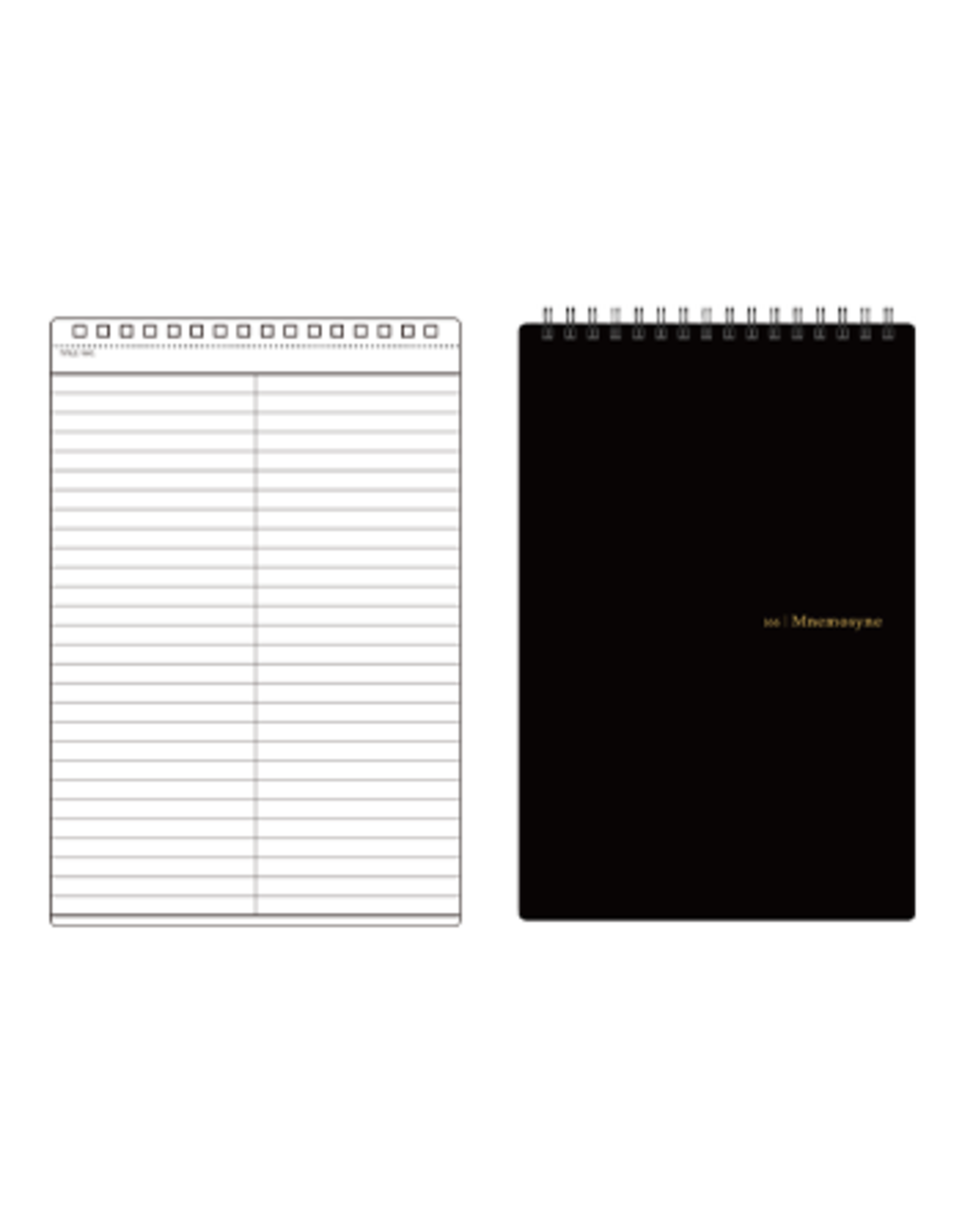 MARUMAN N166 MNEMOSYNE NOTEBOOK 7MM LINED A5 230X148MM