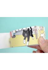 SEIGENSHA A CAT'S WELCOME (FLIP BOOK SERIES)