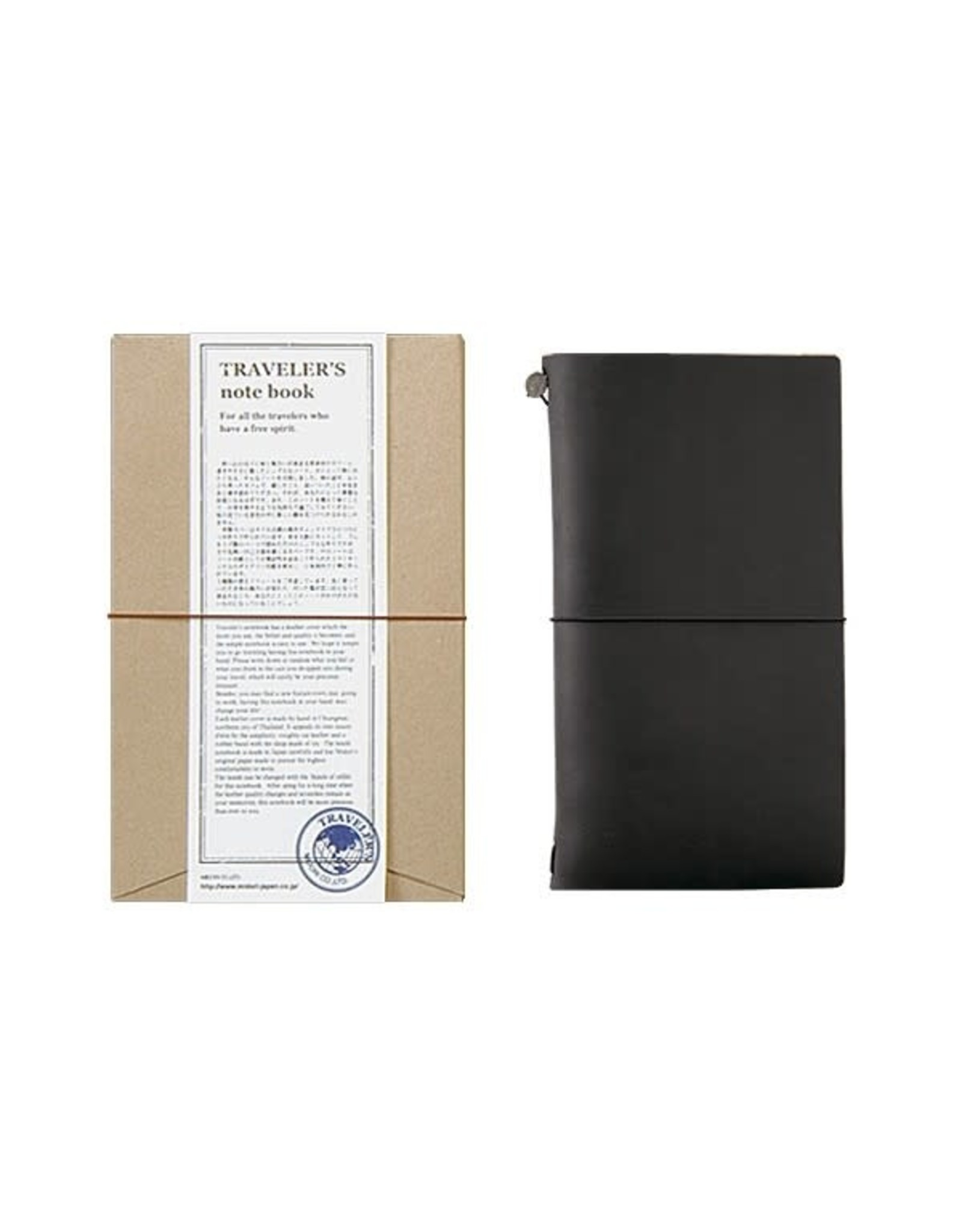 Traveler's Company TRAVELER'S NOTEBOOK REGULAR SIZE BLACK