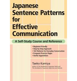 JAPANESE SENTENCE PATTERNS FOR EFECTIVE