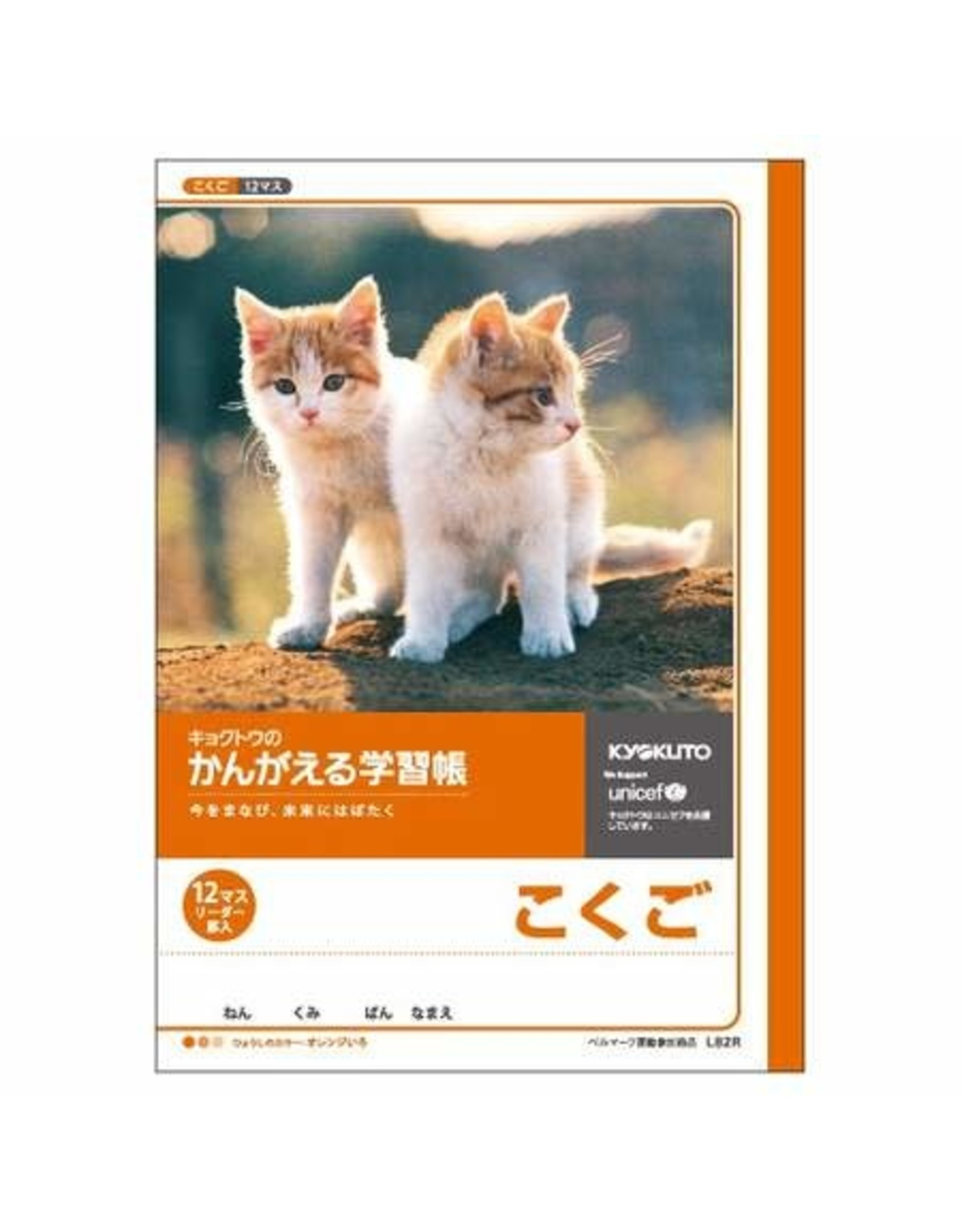 Kyokuto Associates co., ltd. STUDY NOTEBOOK KOKUGO 12 GRIDS