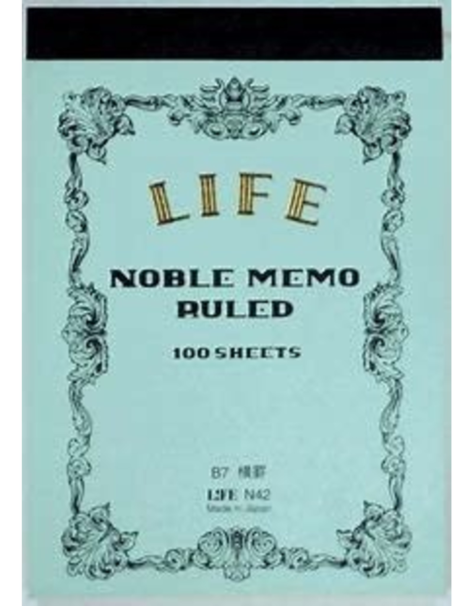 LIFE CO.,LTD. NOBLE MEMO RULED