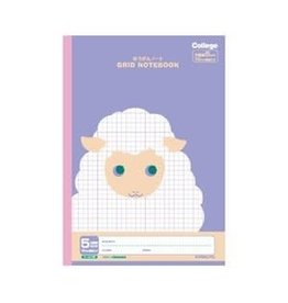 Kyokuto Associates co., ltd. KYOKUTO  GRID NOTEBOOK - SHEEP LT01PU