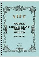 LIFE CO.,LTD. NOBLE LOOSE-LEAF A4 RULED