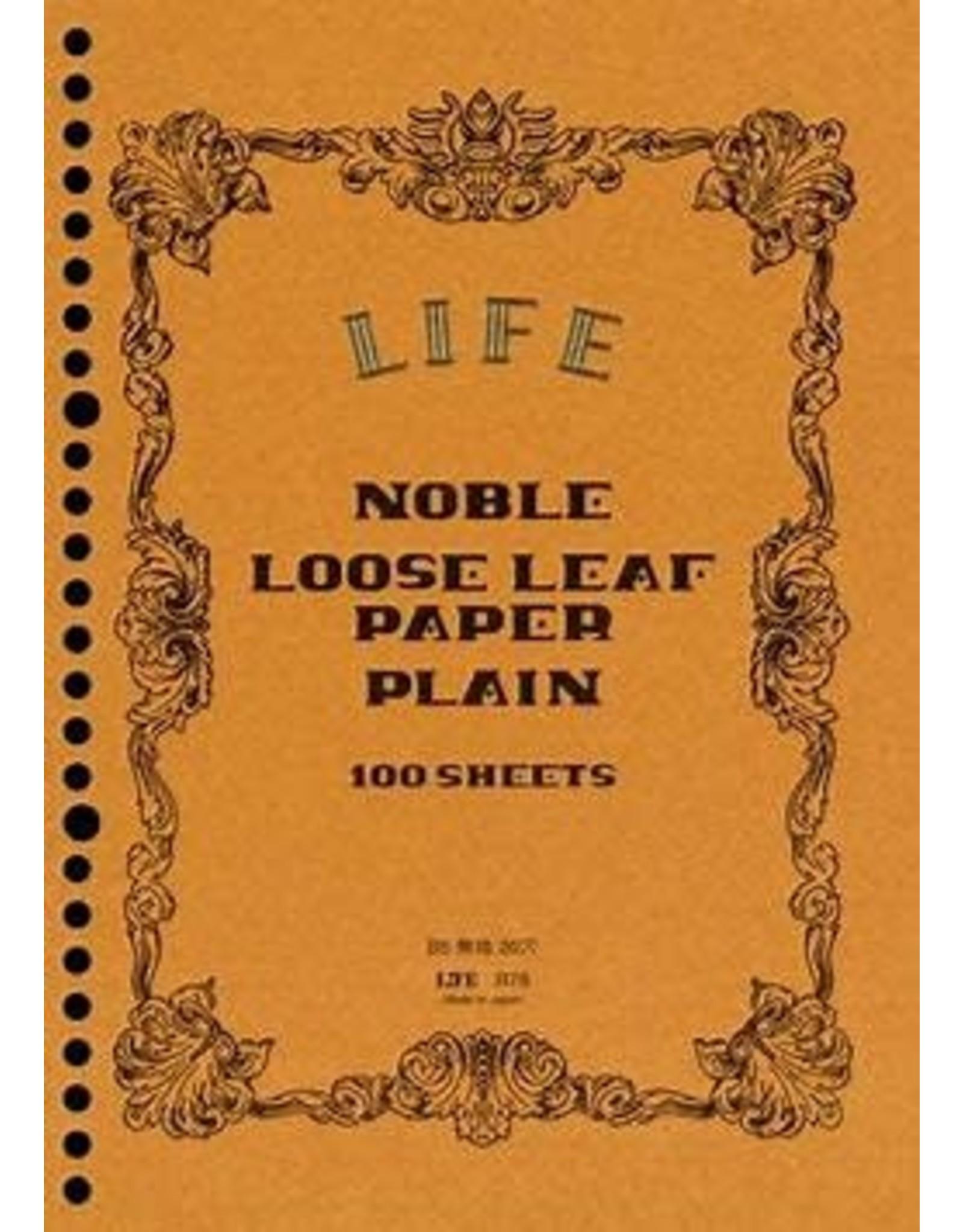 LIFE CO.,LTD. NOBLE LOOSE-LEAF A4 PLAIN