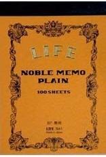 LIFE CO.,LTD. NOBLE MEMO PLAIN