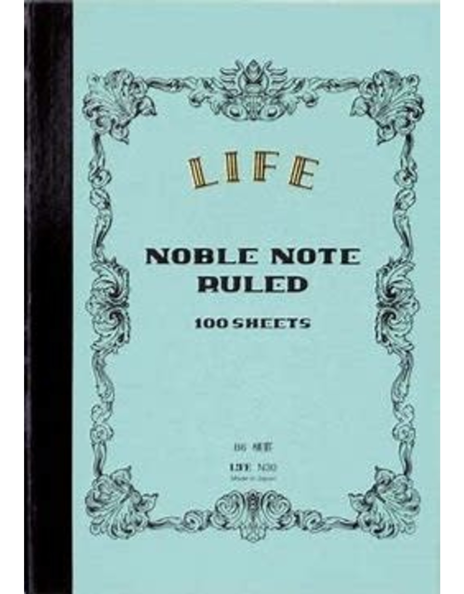 LIFE CO.,LTD. NOBLE NOTE A5 RULED