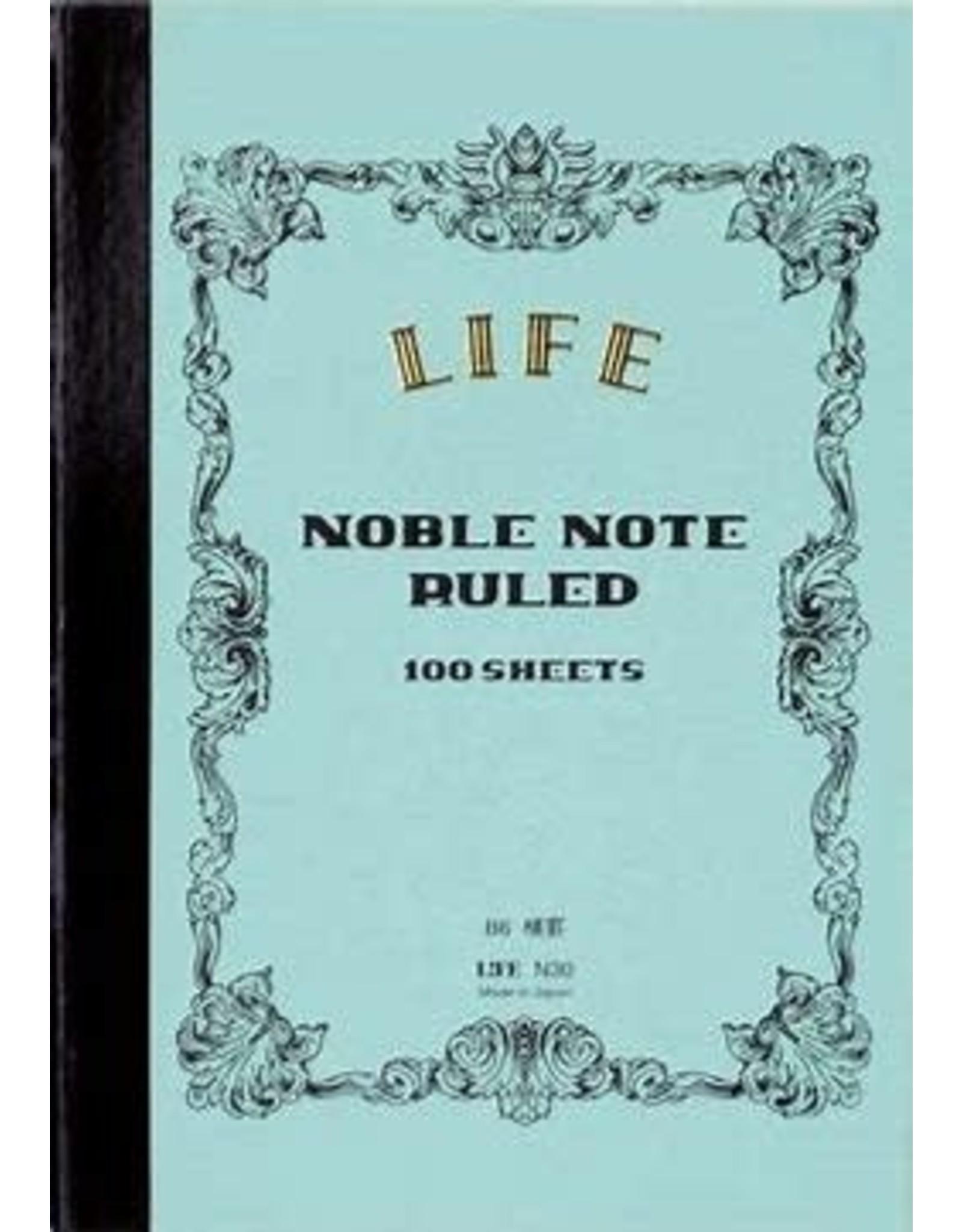 LIFE CO.,LTD. NOBLE NOTE B6 RULED