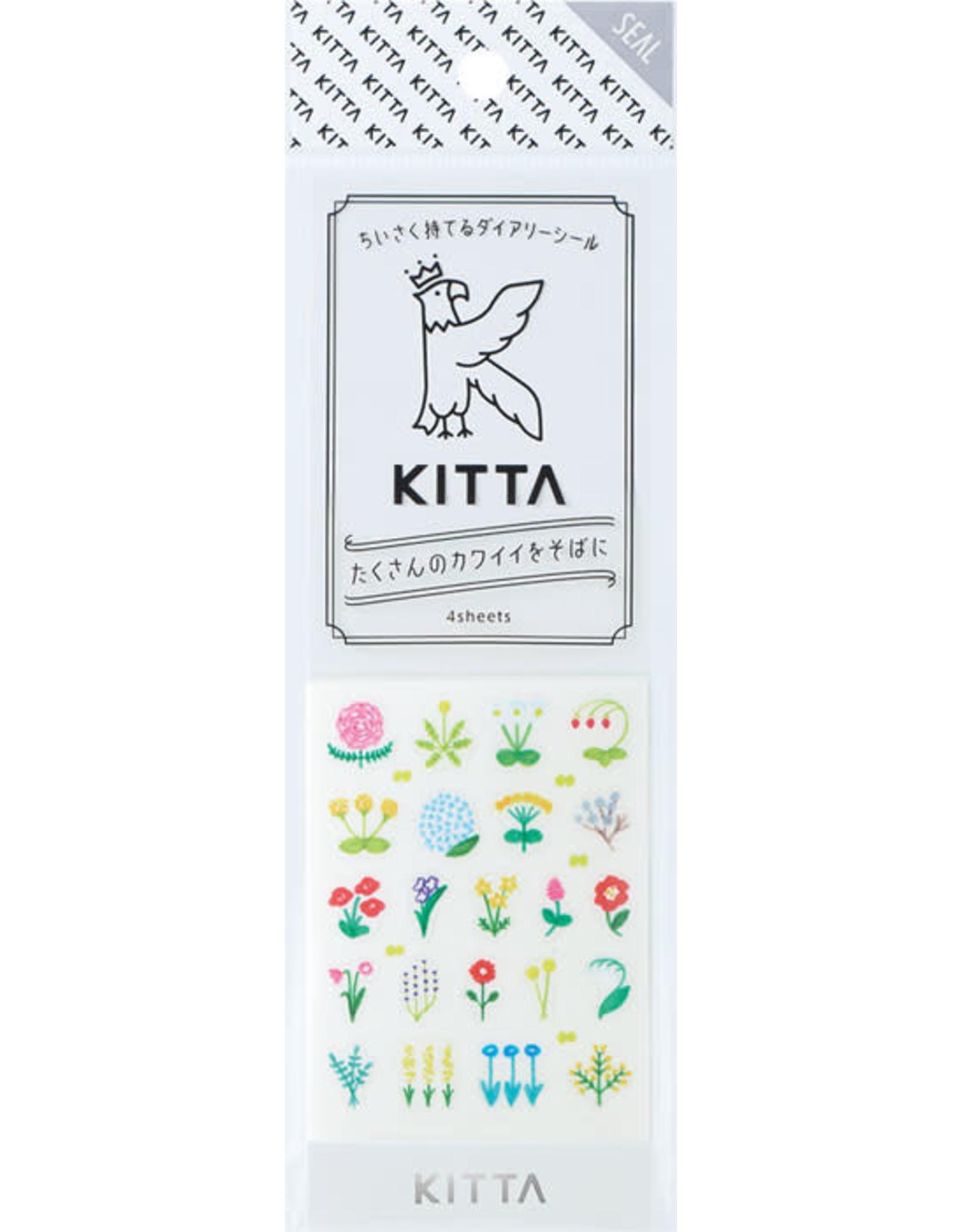 KING JIM CO., LTD. KITTA SEAL CIRCLE(FLOWER)