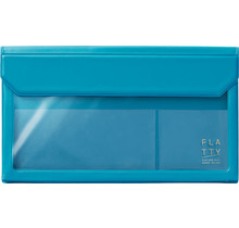 KING JIM CO., LTD. 5362LB FLATTY ENVELOPE SIZE BLUE