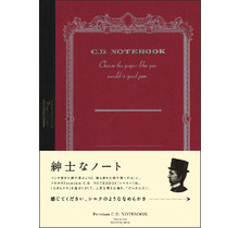 APICA Co., Ltd. - PREMIUM CD NOTEBOOK A5 5MM GRID 96PAGES RED
