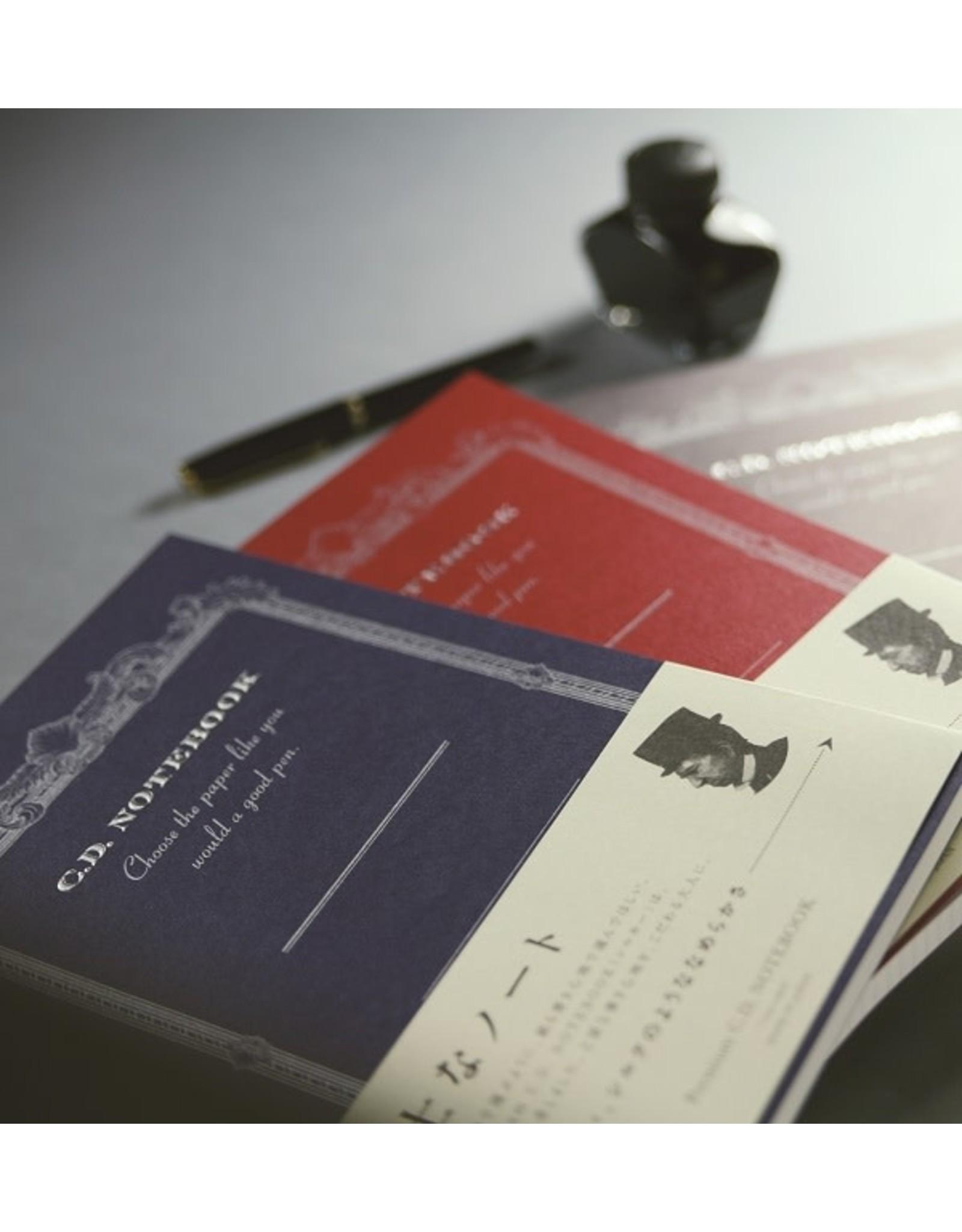 APICA Co., Ltd. PREMIUM CD NOTEBOOK A6 6.5MM 18 LINE 96PAGES BLUE