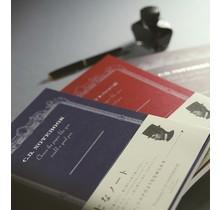 APICA Co., Ltd. - PREMIUM CD NOTEBOOK A6 6.5MM 18 LINE 96PAGES BLUE