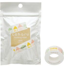KING JIM CO., LTD. COHARU THERMAL PAPER MASKING TAPE for TEPRA LITE HOUSE