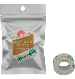 KING JIM CO., LTD. COHARU THERMAL PAPER MASKING TAPE for TEPRA LITE MIZUTAMA MIX