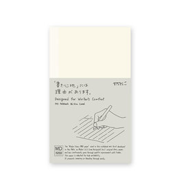 Designphil Inc. MD NOTEBOOK  LINED ENGLISH CAPTION B6 SLIM H175×W105×D10mm