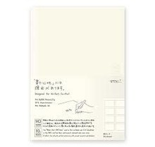 Traveler's Company - 10TH ANNIVERSARY MD NOTEBOOK A5  STORYBOARD