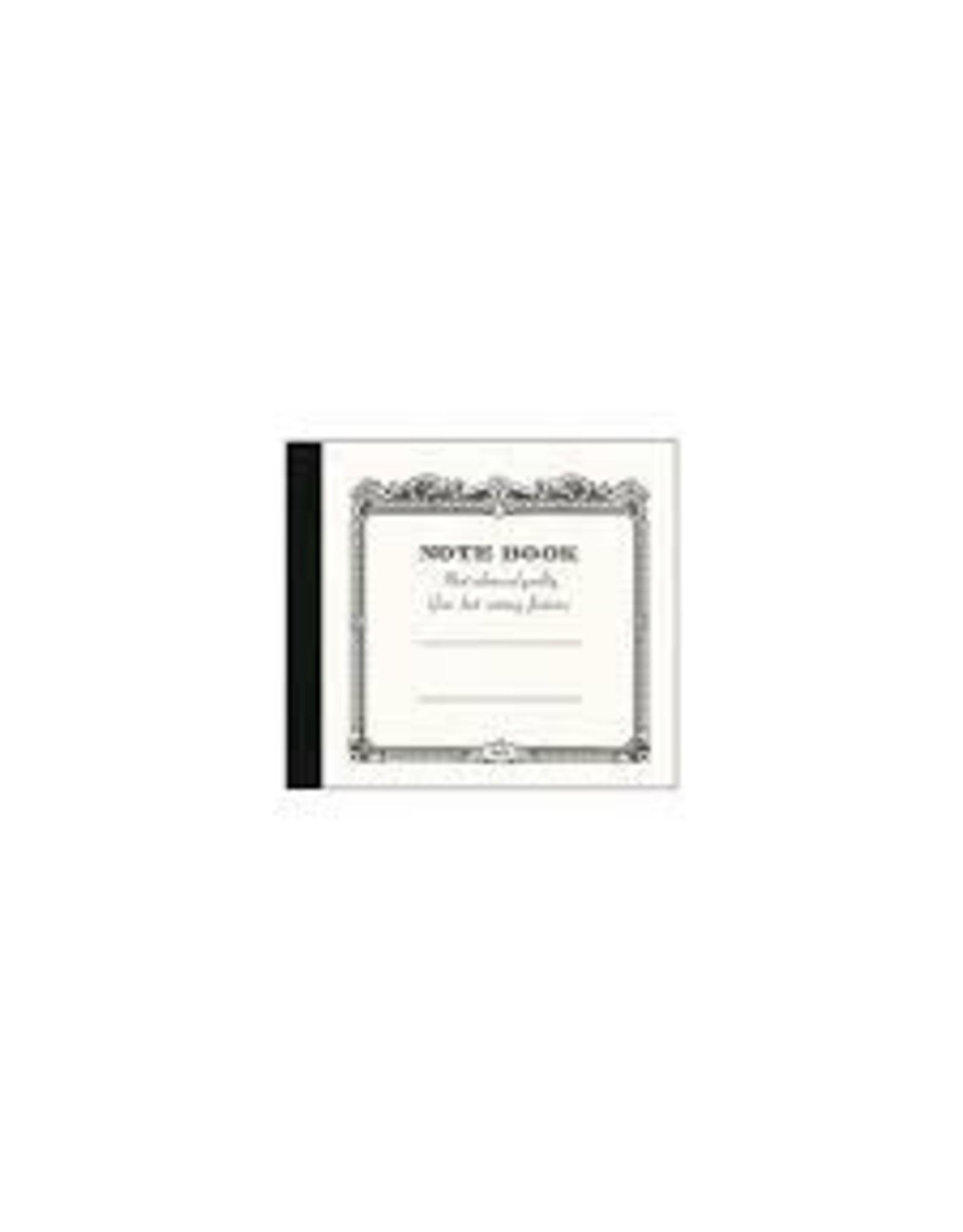 APICA Co., Ltd. C.D. NOTBOOK 124MM X 140MM WHITE
