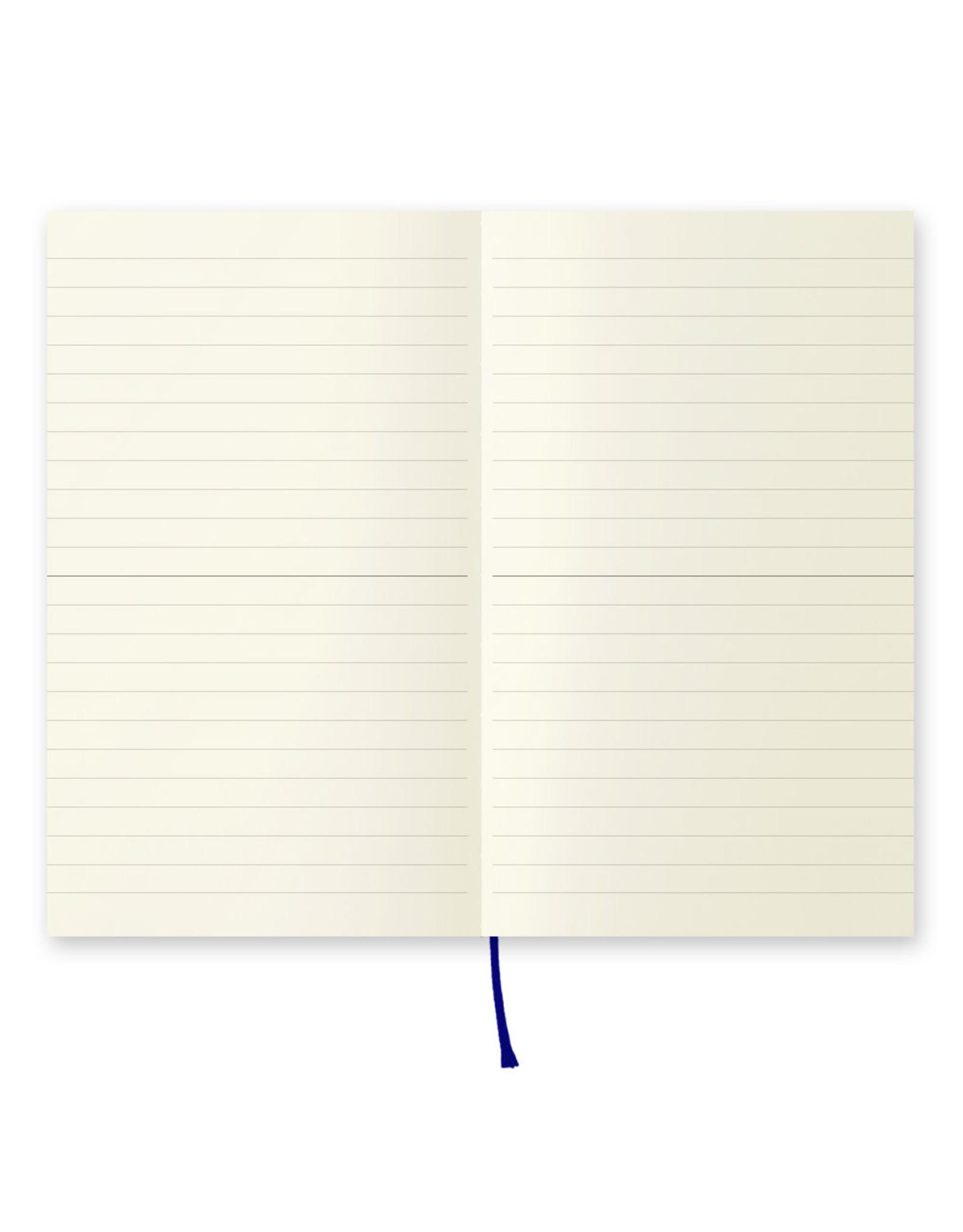 Designphil Inc. MD NOTEBOOK  LINED ENGLISH CAPTION B6 SLIM H175×W105×D10mm